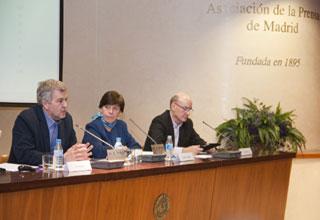 Participantes en la presentación
