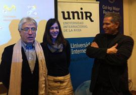 Obdulio Martín Bernal e Ignacio Muro, durante el acto de presentación
