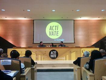 Presentación de la campaña Actívate