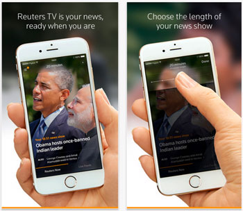 reuters tv para iphone