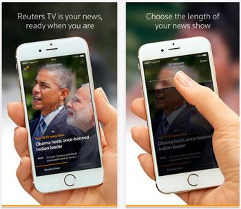 reuters tv para iphone